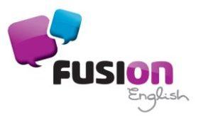 Fusion English-logo
