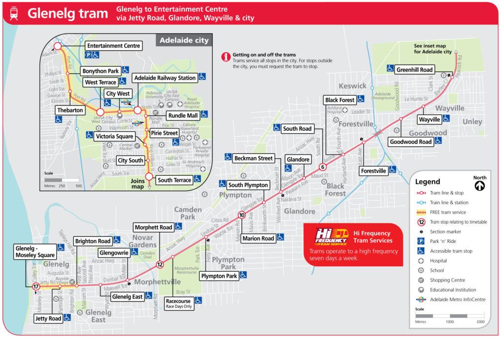Glenelg-Tram_routemap