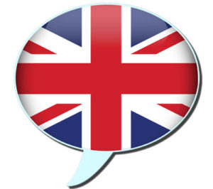 speak british english